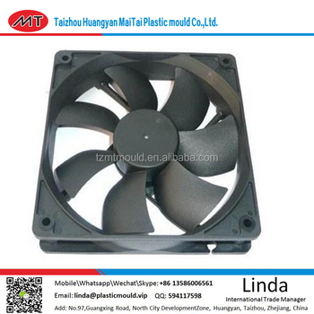 new product design make Plastic fan spare parts plastic injection moulding/China manufacturer home appliances fan mold/tooling