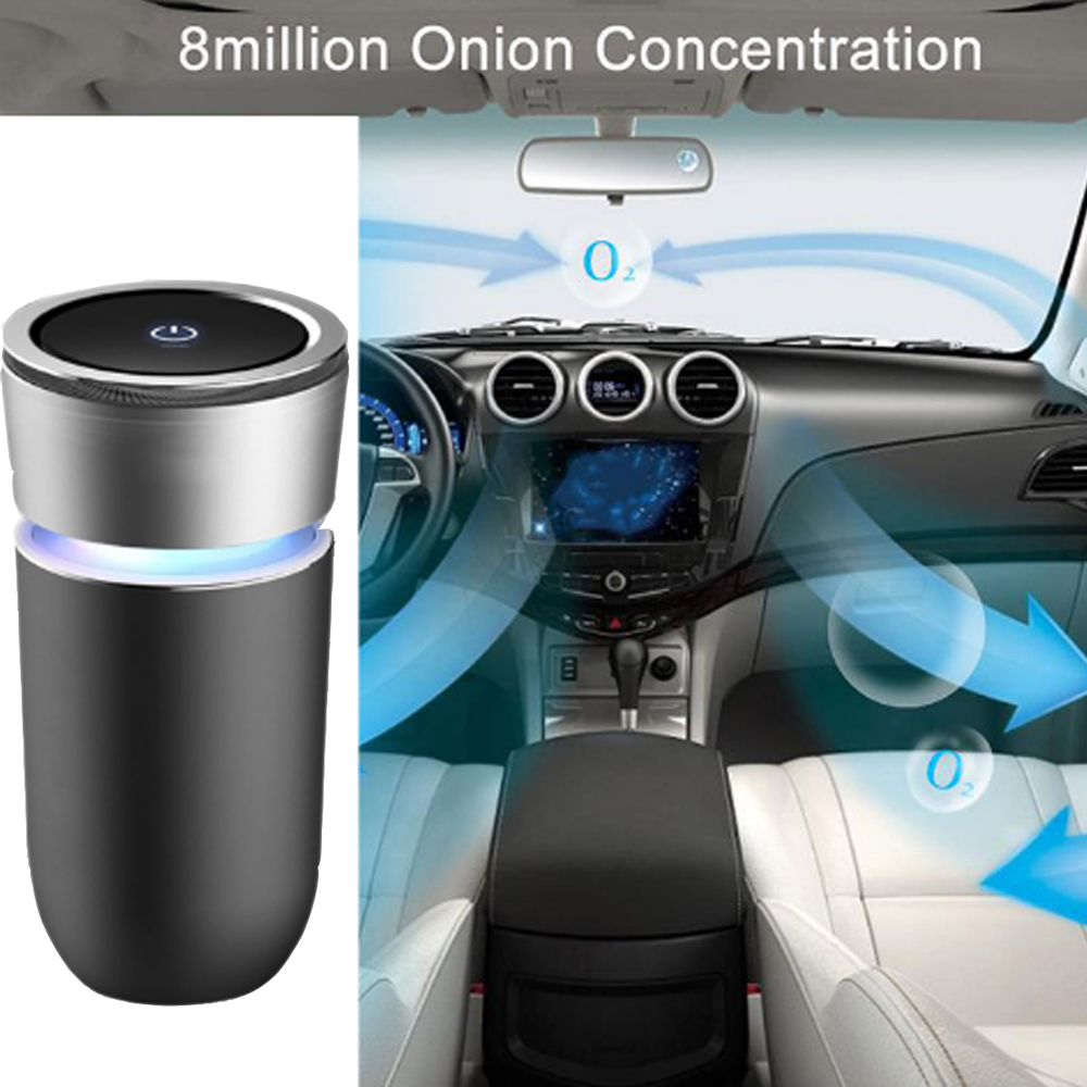 2017 Unique New Car Gadgets (Car Air Purifier Ionizer with HEPA filter)