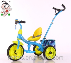 Baby tricycle 3 wheel children tricycle toy with push bar,best toys for kids,good quality and cheap price of baby bike