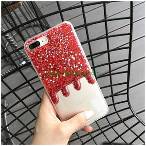 3D Melting Ice Cream TPU Cell Phone Case for iPhone 7