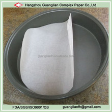 Custom Silicone Treated Round Parchment Paper Circles for Cake Pan Lining