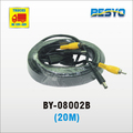 Car monitor AV connector extended cable 20M BY-08002B-20M