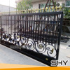 Black Color Steel Wrought Iron Spears