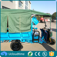 high quality Strong power 1000W 60V closed cargo tricycle wit CE