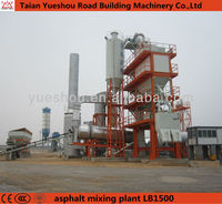Asphalt & bitumen batching plant with capacity 120 t/h