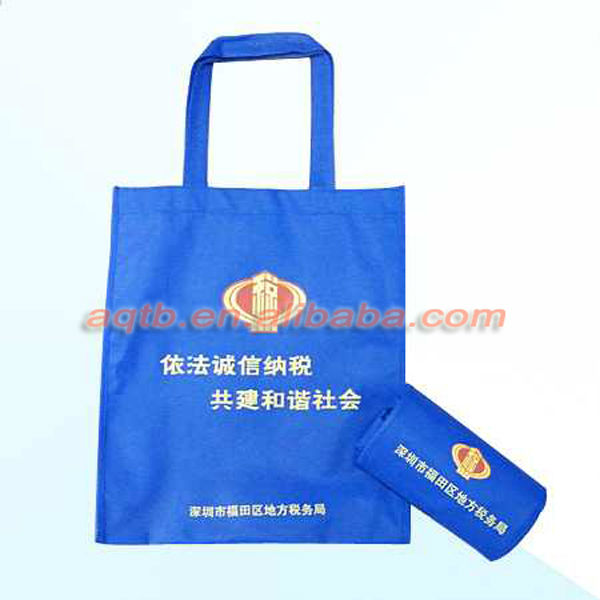 Foldable customized high quality nonwoven bag