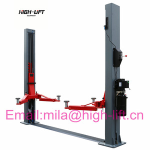 In Floor Used Two Post Lift/Car Lift outdoor supplier