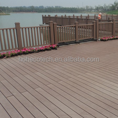 Walkway WPC Composite Deck Board / WPC Wood Deck / Tech Wood Decking