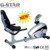 GS-8501R Hot Sales Breathing Exercise Bottle Gym Equipment Deluxe Indoor Magnetic Bicycle Recumbent