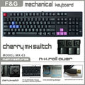 Mechanical Keyboard Gaming with Multi-language Layout