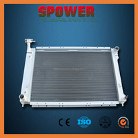 Cheap auto cooling system aluminum car radiator for Mercury Villager 1996-1998