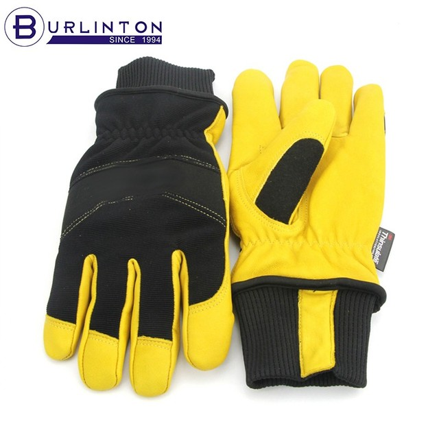 nylon cuff mechanic hand back protection workers gloves