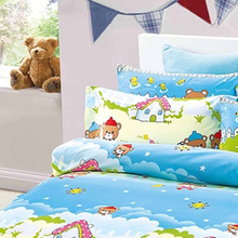 Custom 3d colourful print anime bulk zip it bedding