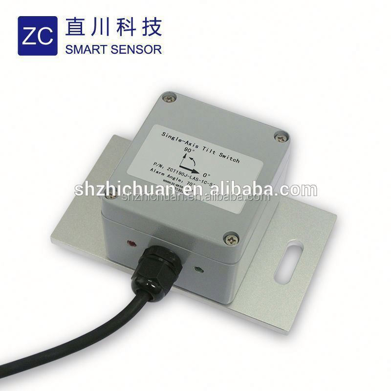 customized Aluminum Low Cost Angle Tilt Switch in Mining Development Machine