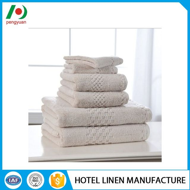 Quality assured different kind luxury egyptian towel for hotel sets
