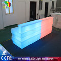 commercial bar counters design / illuminated led bar counter
