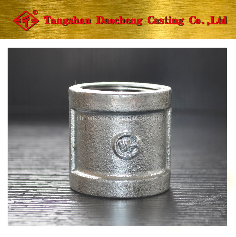 "NPT thread 270 1/2"" Galvanized Coupling/Socket pipe fittings"