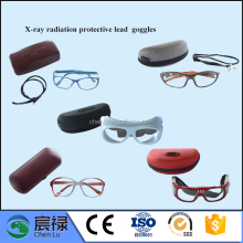 Medical safety leaded glass protective glass