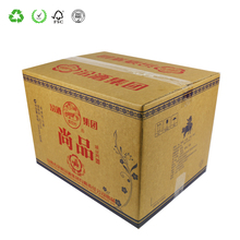 Manufacturers Custom Printing Wine Corrugated Boxes