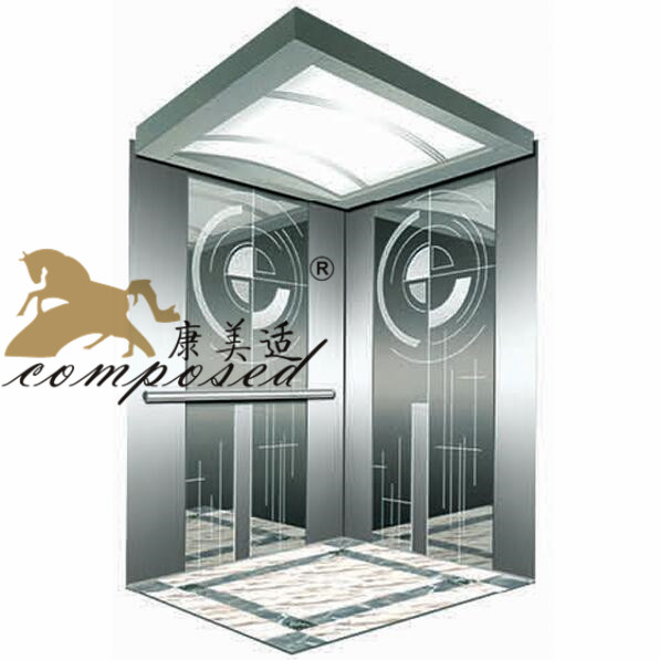 Cheap Price Machine Roomless Small Elevator For 2 Person