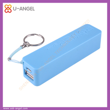 2016 new product portable charger for christmas gift for rectangle thin power bank 2600mah