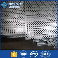 hot sale stainless steel perforated metal mesh screen strip