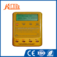 China Promotional KT-97D Battery Auto Charger displays Analyzer