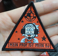Customized Clothing woven patch and embroidered patch for garment