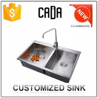 Cadia 2015 OEM&Custom Kitchen Double Bowl Decorative Sink Bowls