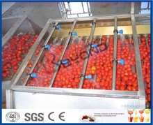 Stainless steel tomato paste processing machine mango pulper Fruit puree vegetable pulp making machine