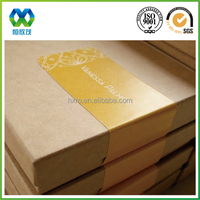 Phone case box paper seal sticker with customized printing