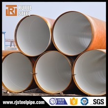 cement lining steel pipe, cement mortar and coal tar epoxy, cement mortar lined steel pipe