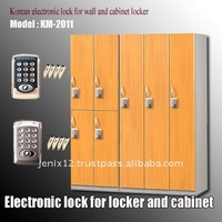 Electronic electronic cabinet lock from Korea