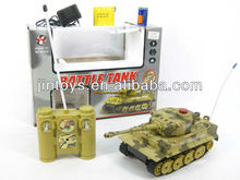 Kids Toy Remote Control Infrared Battle Tank 6Ways With Light and Sound, Radio Control Panzer, R/C Toys,
