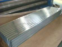 Roofing Steel Corrugated Galvanized Cladding from hualu