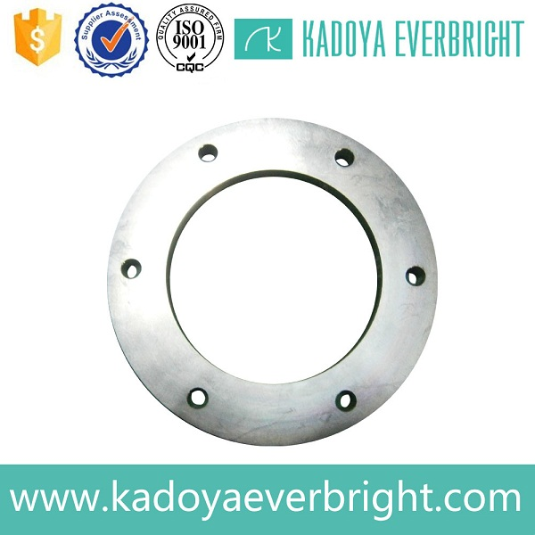 Best price forged stainless steel black floor flange 1/2