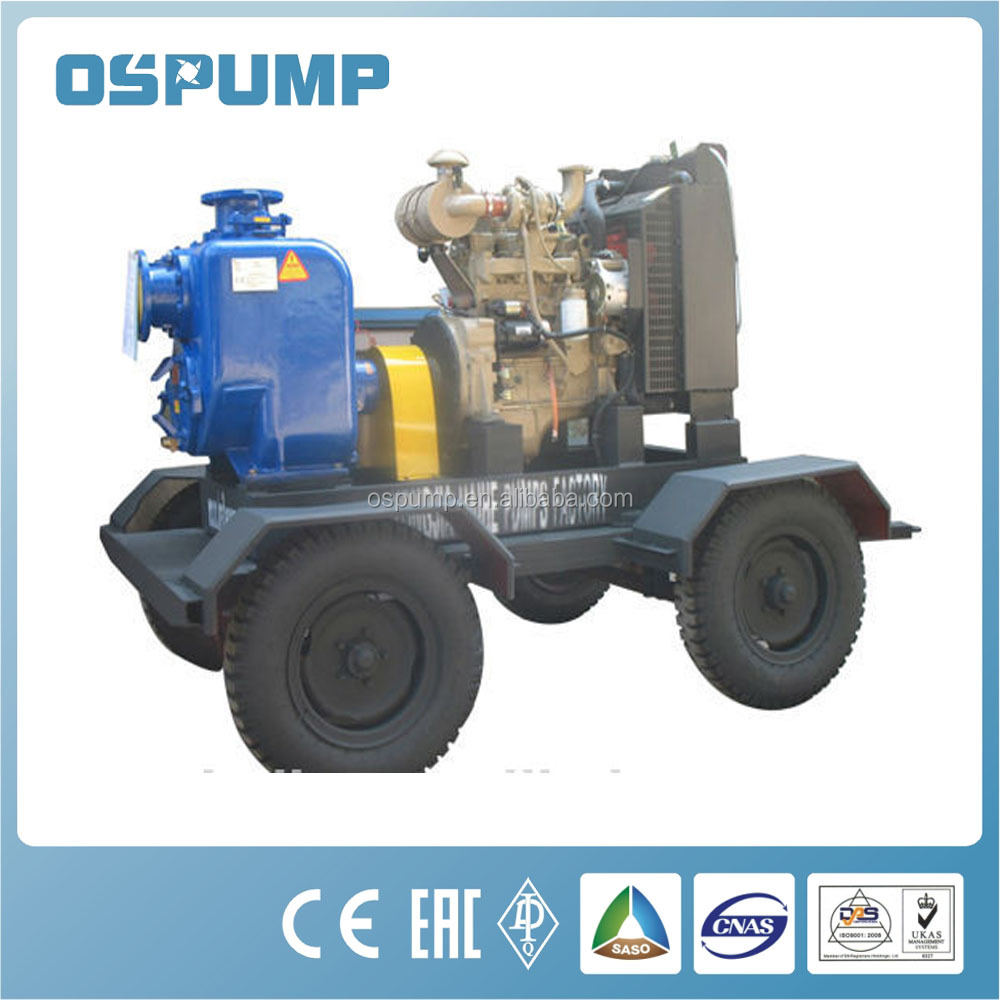 Gorman rupp self priming sewage pump