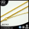 Ladies Shoe Accessories Chain Gold Chain