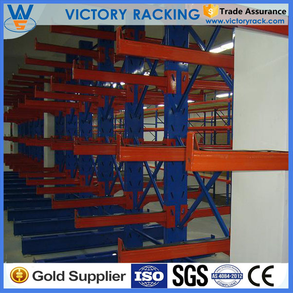 Steel Beam frame Cantilever warehouse storage racking