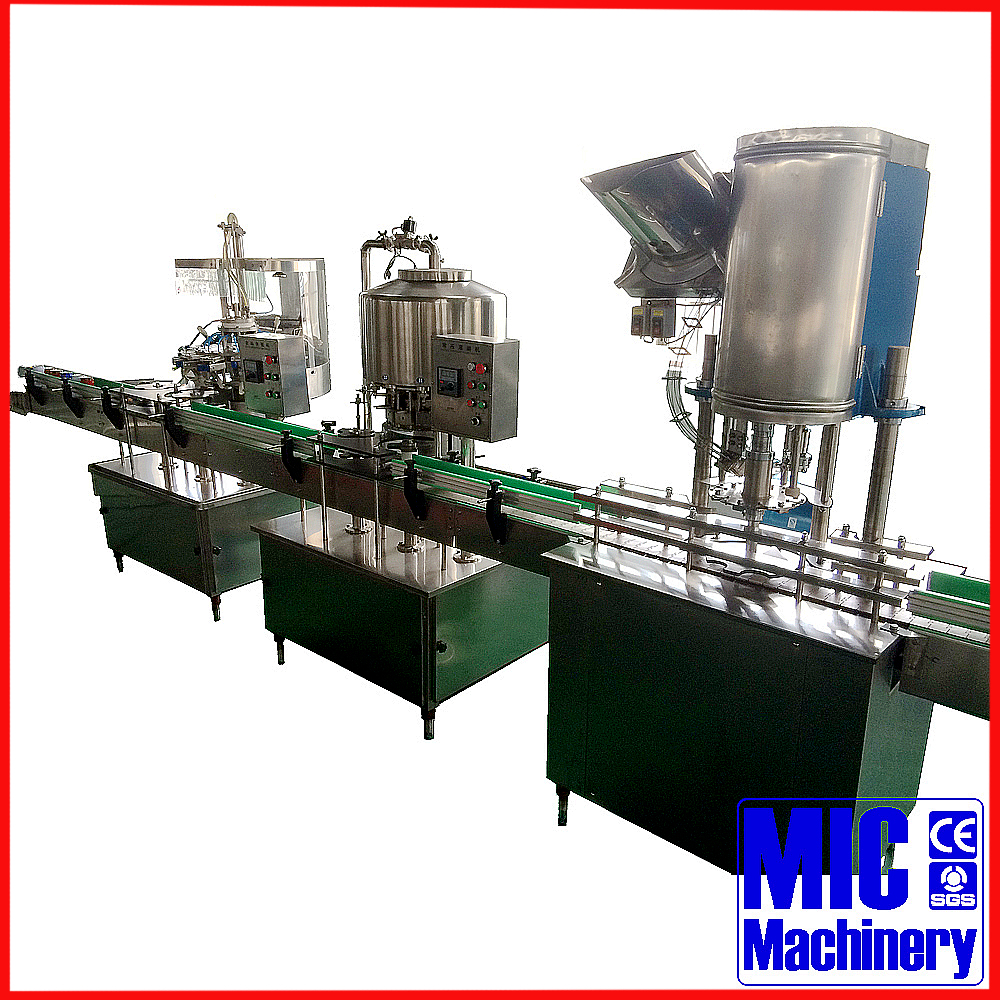 MIC-12-12-1 Durable #304 stainless steel liquor bottling equipment