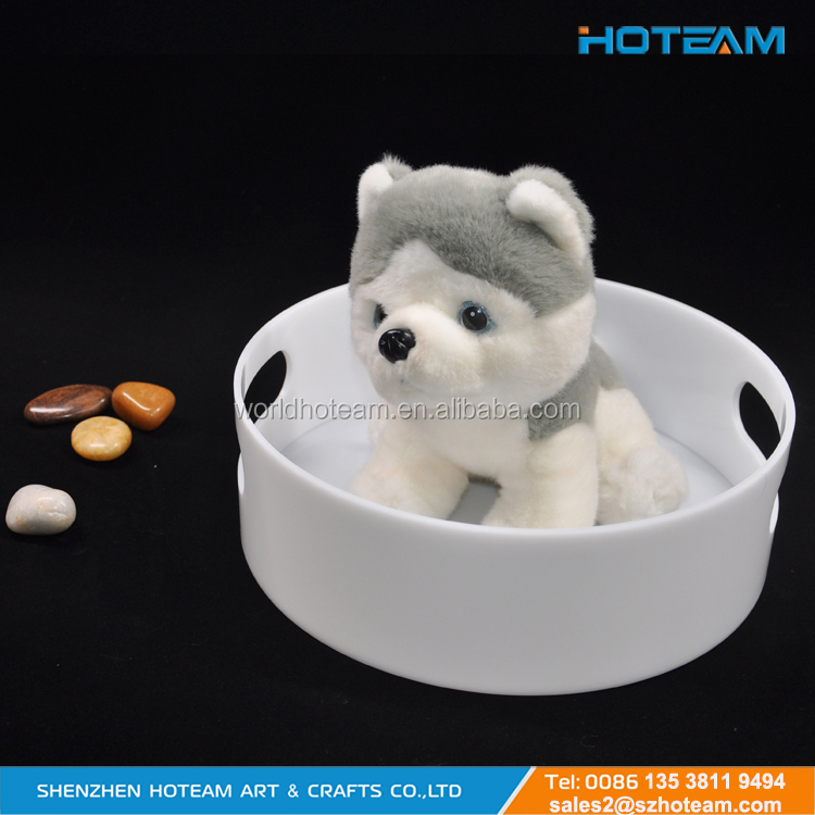 For Cat And Small Dog Home & Outdoor white color Acrylic Pet Home