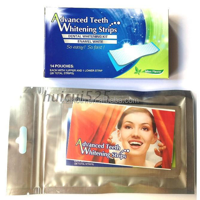 2016 Newest Coconut Oil Teeth Whitening Strips