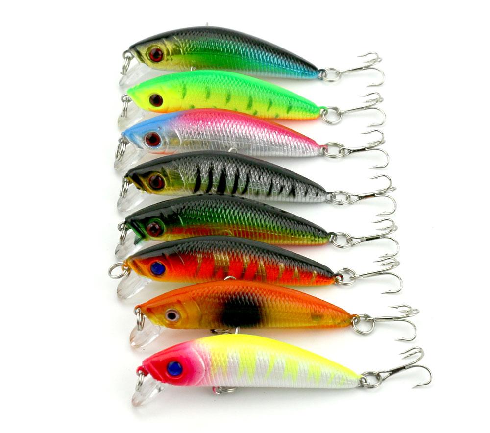 Wholesale Minnow Fishing Lures 7cm Sea Fishing Bait