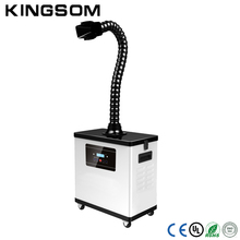 Top selling laser fume extractor with single fume extraction arm hood,industrial smoke filter,portable smoke absorber