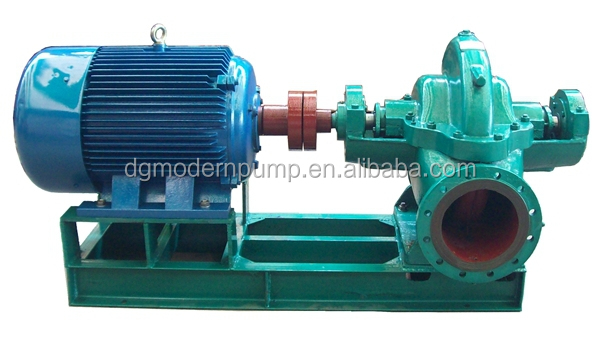 S series single stage double suction split case water pump