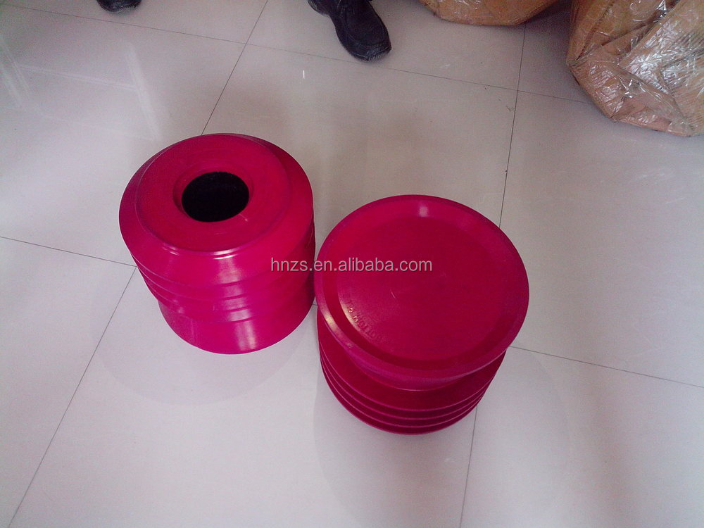 oil well drilling cementing plug- top and bottom rubber plugs