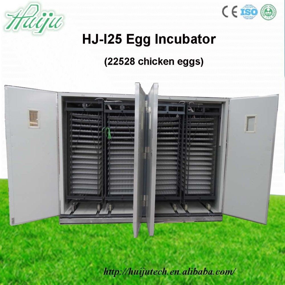 Latest design 220W 22528egg industrial egg incubator made in china incubator machine price cheap HJ-I25
