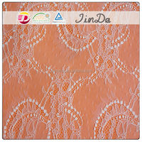 French floral lace fabric newest design sequin embroidery wholesale