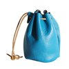 Genuine Leather Drawstring Coin Bag Jewelry Pouch Cute Mini Money purses