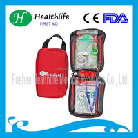 emergency survival belt travel first aid kits